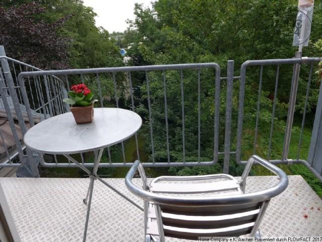 Aachen-Forst, Exclusive möblierte Maisonette-Wohnung in schöner Stadtvilla