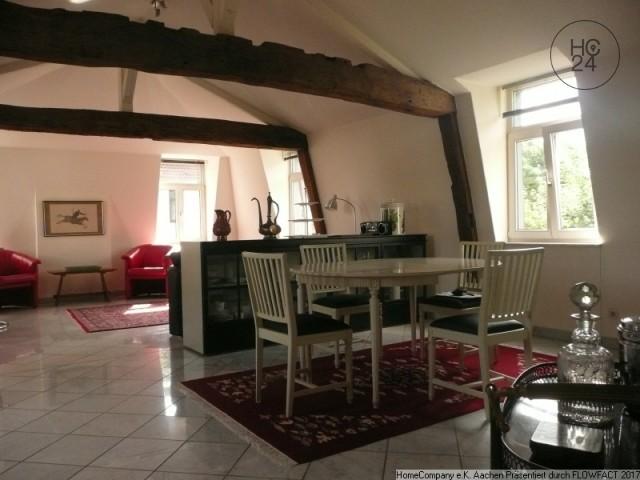 Aachen-Laurensberg; Stil- und geschmackvoll möblierte 2 Zimmerwohnung im Denkmal, all incl.