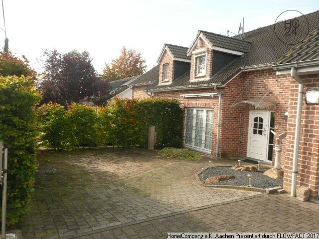 Südlich v. Aachen: Komfort u. Naturnähe in hochwertig möbl. Haus mit Garten u. Garage; all inkl.