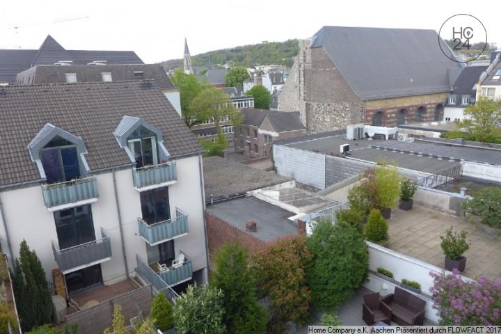 Attractive Aachen City: Modern Möbl., Ruhige 2 Zi. Whng. Mit