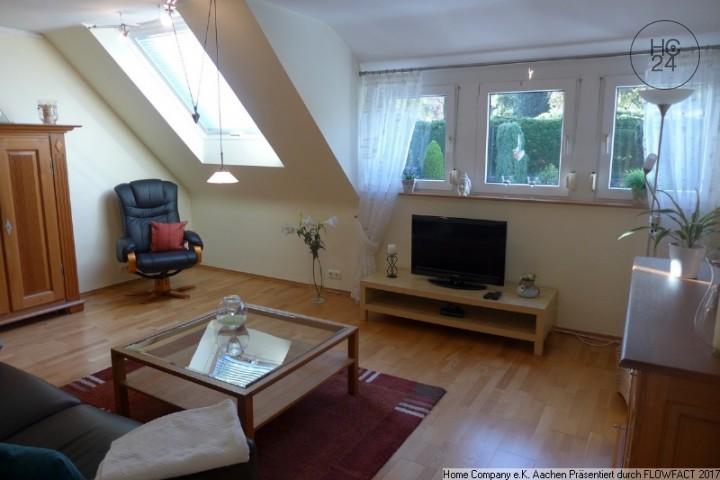 Aachen-Laurensberg: Modern möbl., komfortable 2 Zi-Whng.; all inclusive