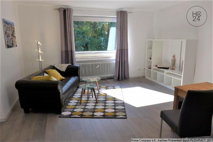 Aachen-Süd/Burtscheid: Modern möbl. 2 Zi-Whng. m. Balkon in guter Lage