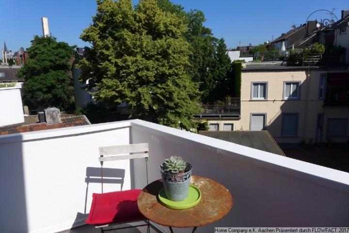 Aachen-Zentrum: Ansprechend möbl. 2-Zi-Whng m. Balkon, all inkl.