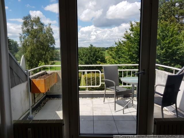 Kohlscheid: Großzüg., komfortabel möbl. 3-Zi-Whng., Balkon mit Blick ins Grüne