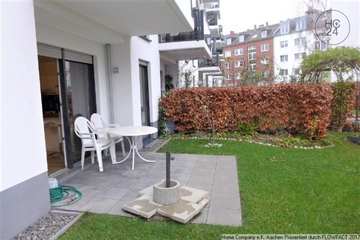 Aachen-Rothe Erde: Modern möbl. 3-Zi-WHG mit Terrasse, ruhige Lage