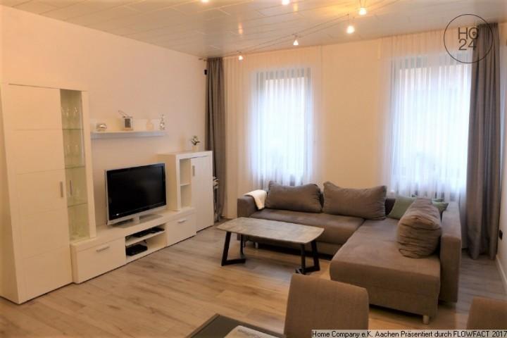 Aachen Forst: Modern möbl. 2-Zi.-Mais. mit Außensitzbereich