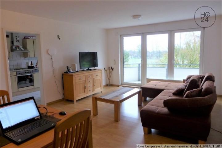 Oberforstbach: Komfortable, möbl. 3-Zi-Whng m. Balkon u. Stellpl.