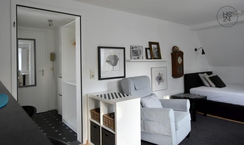 1 room attic apartment in the center of Kempten