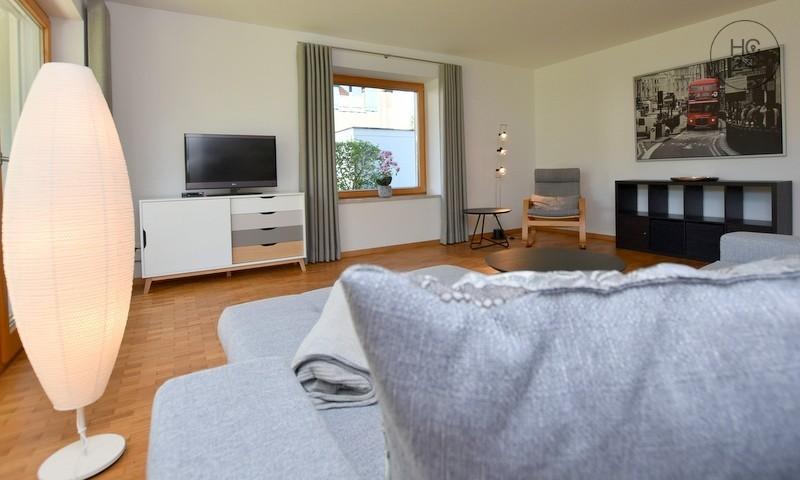 家具付き3部屋、Sonthofenの住宅