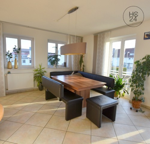 5.5 room maisonette apartment with balcony in Hawangen