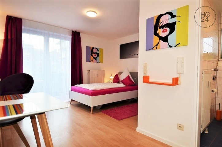 good located furnished apartment in Augsburg