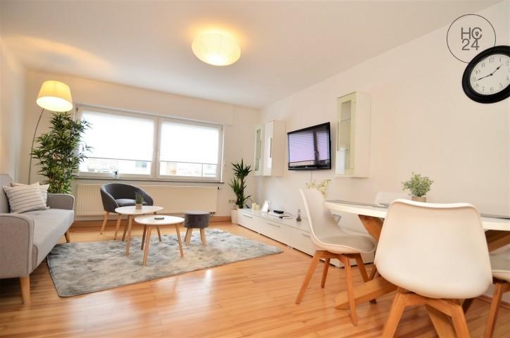 helle, modern möblierte Wohnung in ruhiger Lage in Augsburg Pfersee