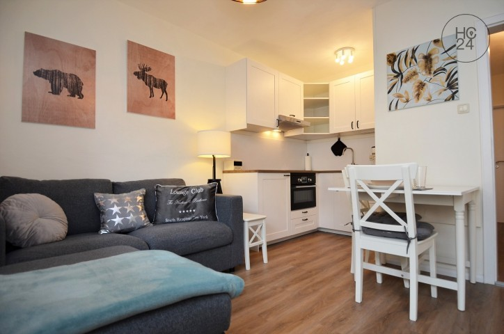 bright fully furnished flat in a good area in Augsburg Haunstetten