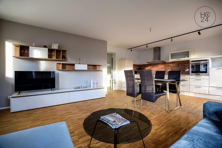 Exklusiv möblierte Wohnung in ruhiger Lage in Augsburg Haunstetten