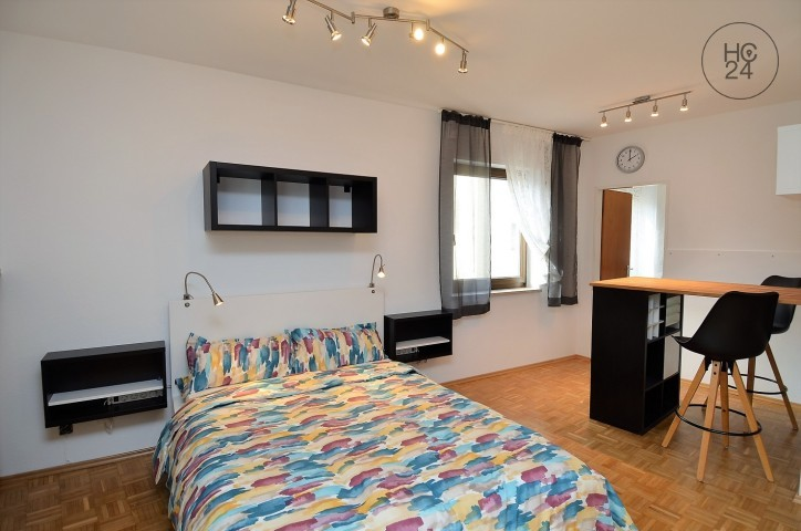 neu möblierte Wohnung in der Augsburger Altstadt