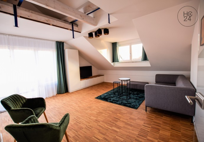 exclusively furnished flat in a quiet location in Augsburg Haunstetten