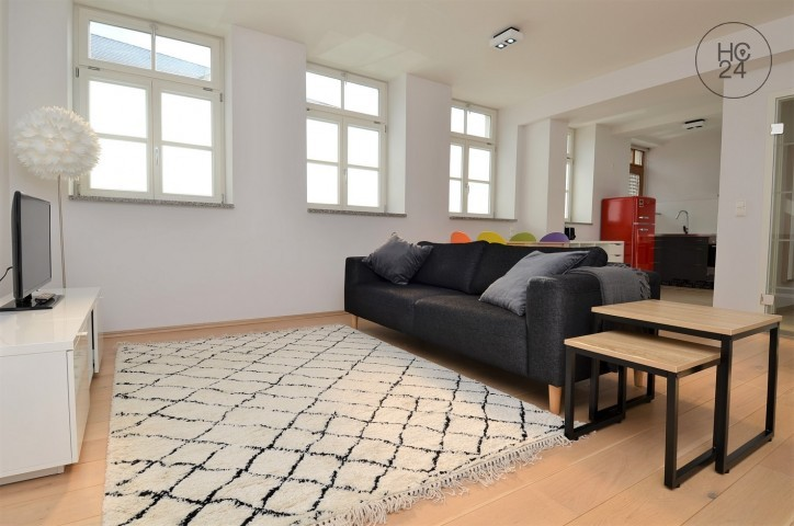 Beautiful furnished flat in the city center of Augsburg