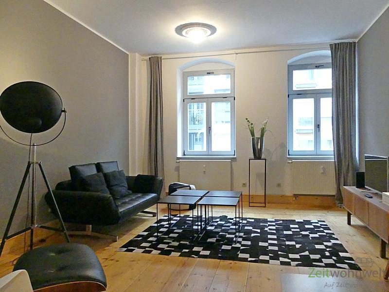 Äußere Neustadt, Top-modern möblierte Oase der Ruhe im angesagten City-Szeneviertel
