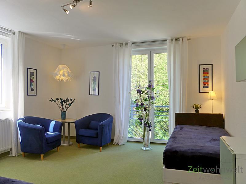 Räcknitz/Zschertnitz, wunderschön möblierte 3-Zimmer-Wohnung mit Balkon, WLAN und Service