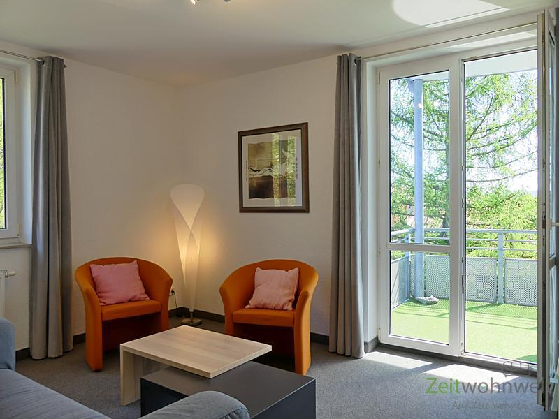 Räcknitz/Zschertnitz, geschmackvoll eingerichtete 3-Zimmer-Wohnung mit Balkon zum grünen Garten