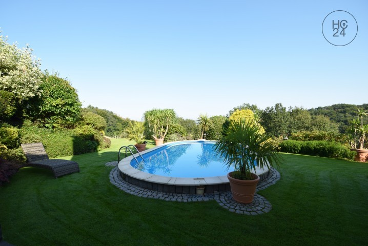 Modern 2-room apartment with magnificent view in rural idyll