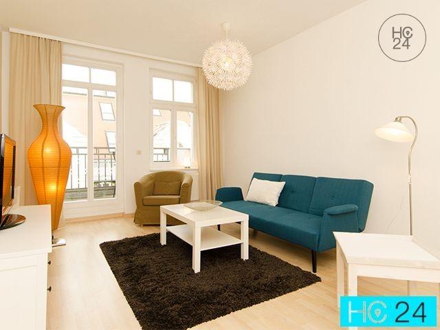 Umeblowane mieszkanie z 2 pokojami w Südvorstadt