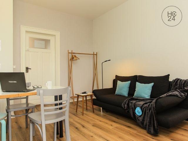 TOP-möbliertes Apartment in Leipzig + W-LAN + PKW-STELLPLATZ + RUHIG ZUM INNENHOF!