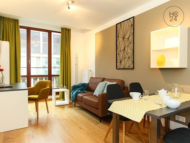 Furnished apartment in Leipzig + temporary living + city center +WiFi