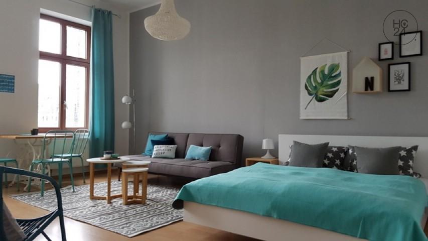 CENTRUM-Süd + furnished apartment in Leipzig + W-LAN + STYLISH FURNITURE