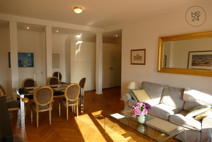 TOP!!! Top floor apartment with BALKON + INTERNET + furnished living in Leipzig