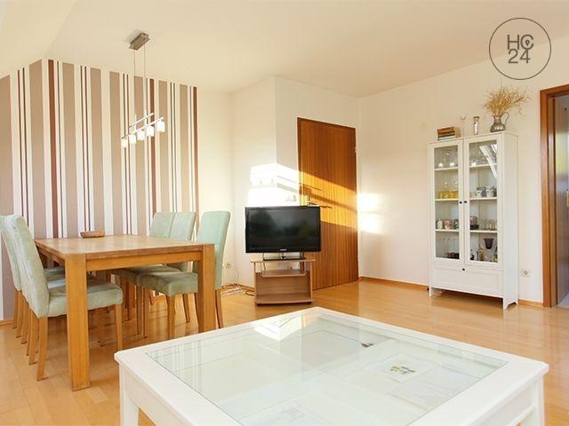 Møblert leilighet med 3 rom i Grünau