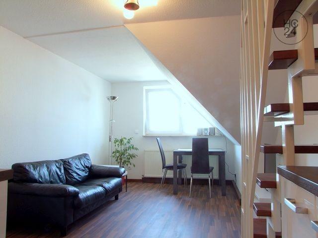 Mannheim-Neckarau: Very pleasant recently renovated maisonette apartment in Mannheim-Neckarau