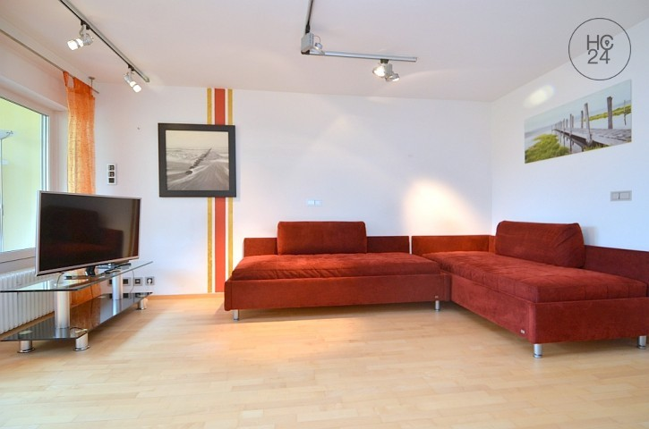 Beautifully furnished studio apartment with Wi-Fi in Fuerth North