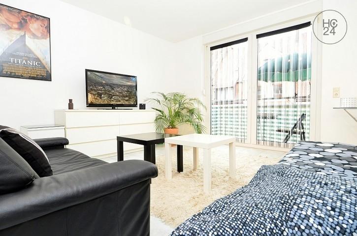 Modern möblierte 1-Zimmer Wohnung mit Balkon im Nürnberger Norden