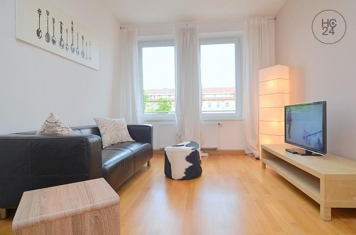 位于Kleinweidenmühle的带3个房间的配家具公寓
