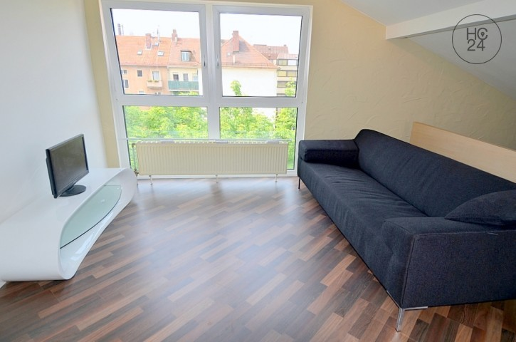 Centrally located 1-room apartment in Nürnberg/Galgenhof