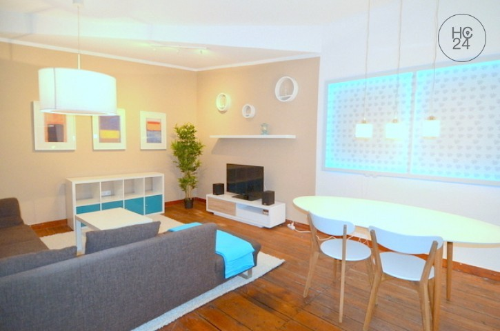 Exclusively furnished 2-room apartment with Wi-Fi in central location in Nürnberg