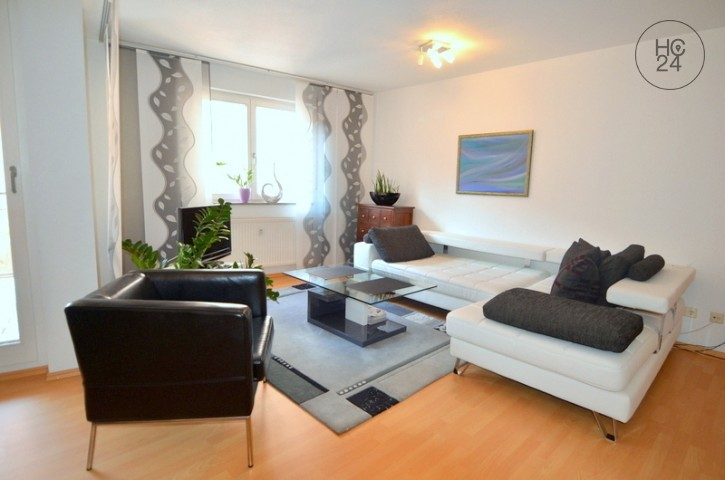 Tastefully furnished flat with balcony in famous St.-Johannis/Nuremberg