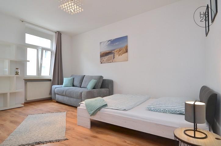 Modern möbliertes Zimmer mit WLAN in der Nürnberger Innenstadt