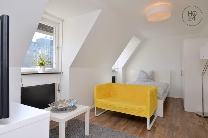 Moderne möblierte 1-Zimmer-Wohnung in der Innenstadt