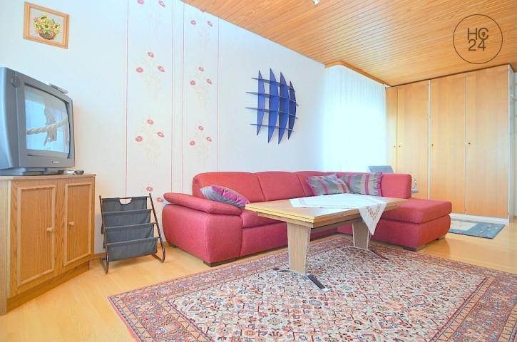 Gemütlich möblierte 1-Zimmer-Wohnung mit Garten und WLAN in Heroldsberg für Pendler
