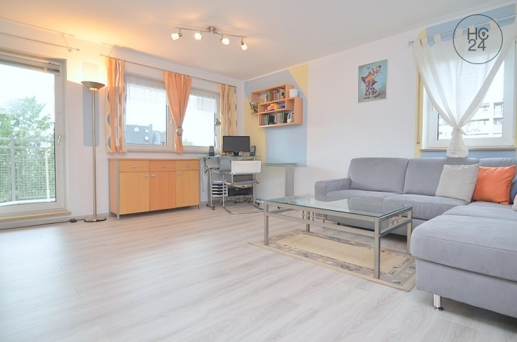 Ideal to Erlangen:comfortably furnished apartment with balcony, Wi-Fi and parking