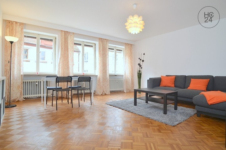 Modernly furnished huge flat with Wi-Fi in the heart of Oldtown Nuremberg