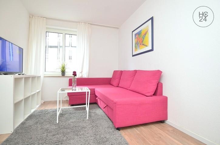 Modern möblierte 2-Zimmer Wohnung mit WLAN in der Nürnberger Innenstadt