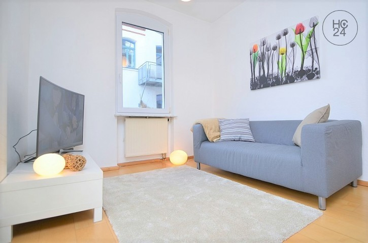 Exclusivelyfurnished 2-room flat with balcony and Wi-Fi at Maxfeld/Nürnberg