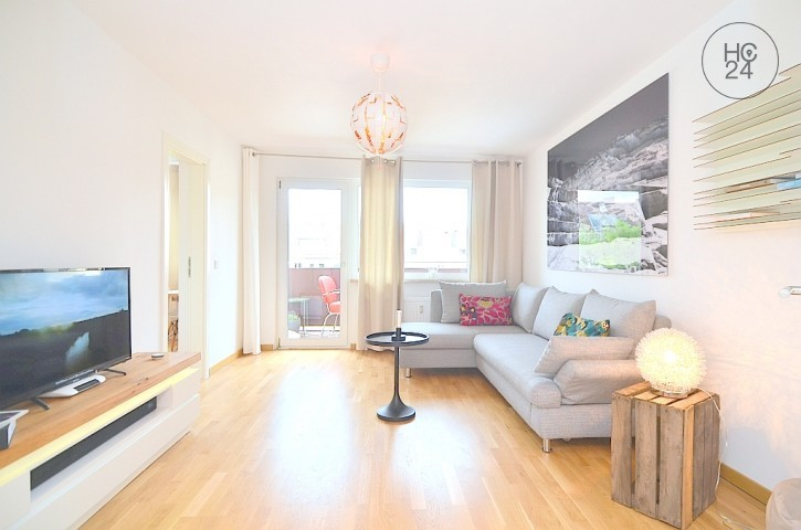 Exklusiv möblierte 2-Zi.-Wohnung mit WLAN und Balkon in Nürnberg/Hummelstein