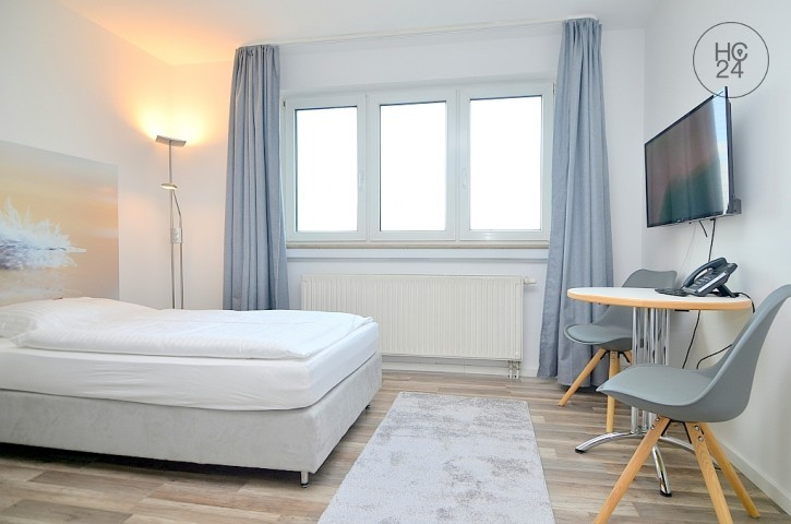 First move-in: Exclusively furnished apartment with Wi-Fi, parking at the U1 in Fürth