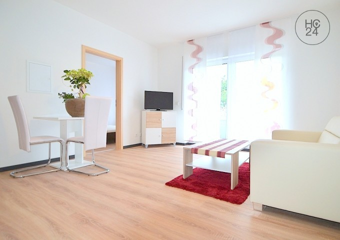 Modernly furnished 2-room apartment in Schwarzenbruck