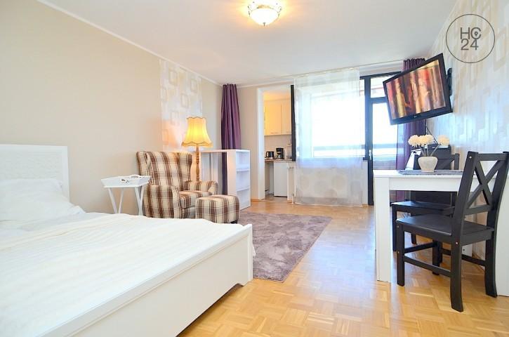 Modern möblierte Wohnung mit Balkon und W-LAN in Nürnberg am Wöhrder See