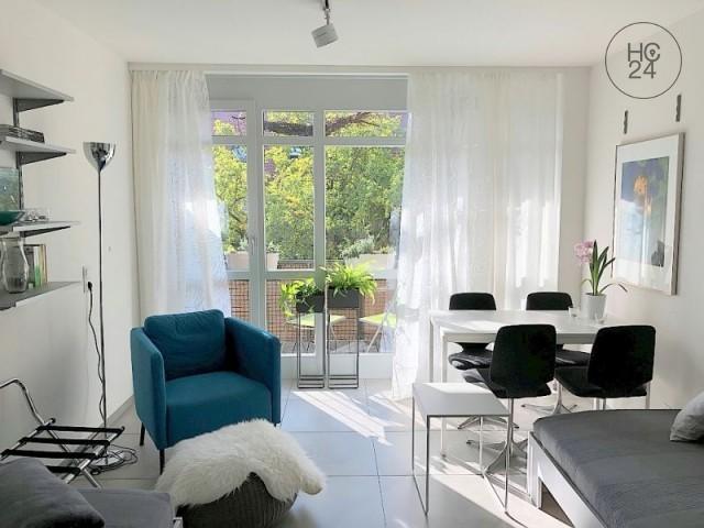 Exklusiv möblierte 3-Zimmer Wohnung mit WLAN und Balkon in Nürnberg St.-Johannis